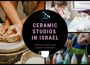 Paint-Me Pottery & Ceramics in Israel