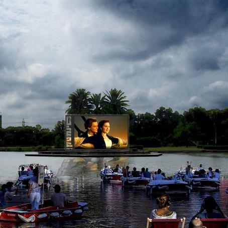 Floating Cinema to open in Tel Aviv!