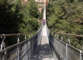 Nesher Park (suspension bridge hike)
