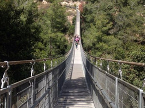 Nesher Park (suspension bridge hike)