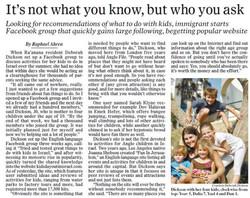 Haaretz media report on LoveLoveIsrael