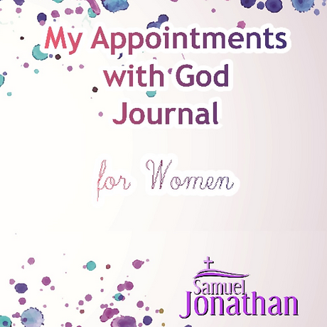 My Appointments with God for WOMEN