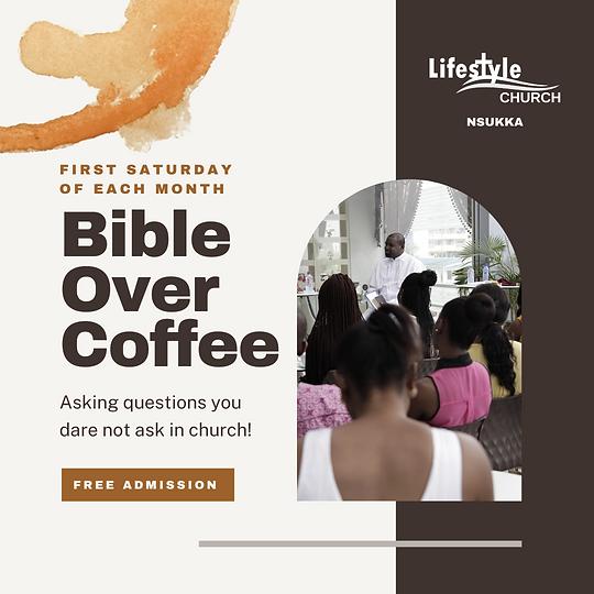 Bible Over Coffee
