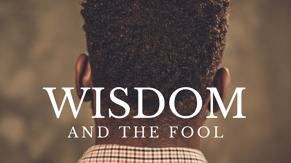 WISDOM and The Fool