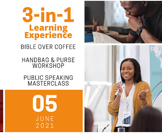 Bible Over Coffee 3-in-1 Event