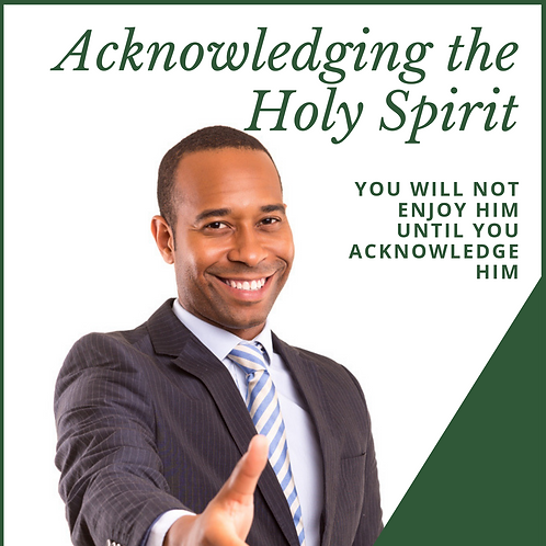 Acknowledging the Holy Spirit by Pastor Samuel Jonathan