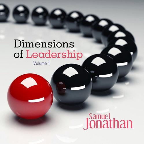Dimensions of Leadership volume 1