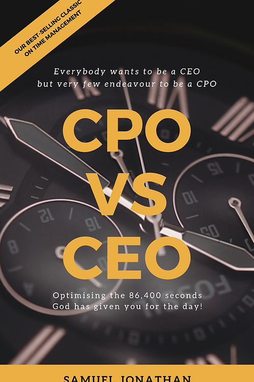 CPO vs. CEO by Samuel Jonathan