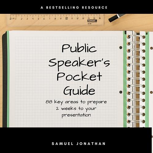 Public Speaker's Pocket Guide