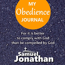 My Obedience Journal