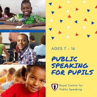 RCPS Public Speaking for Pupils - logo n