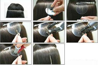 Hair Extensions Salon in Dubai. Hair Extensions Maintenance. Pre-Bonded Hair.