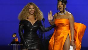 Beyoncé and Taylor Swift make history at Grammys