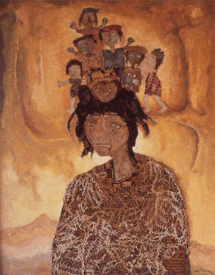 Through the distant paths they reach the amauta (1982)   Liber Fridman