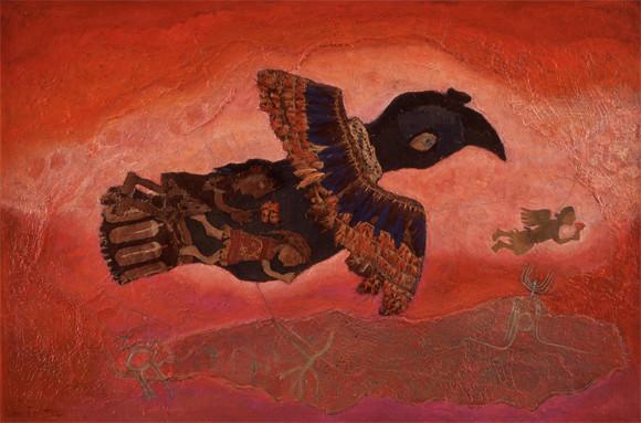 The Nazca bird skirted his immensity (1974)   Liber Fridman