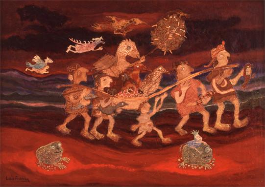 They were traveling spirits (1988)   Liber Fridman