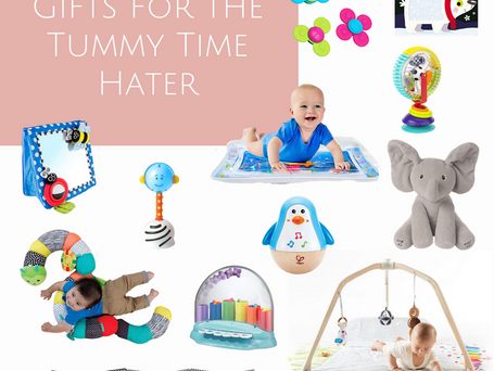 Gifts for the Tummy Time Hater