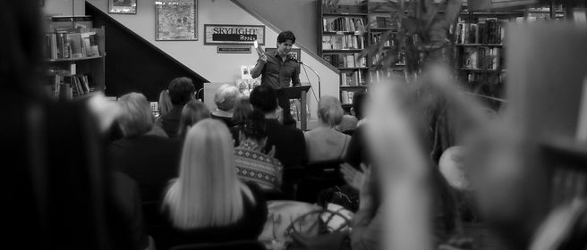 Anthony Breznican at Skylight Books
