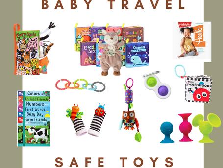 Baby & Toddler Travel-Safe Toys