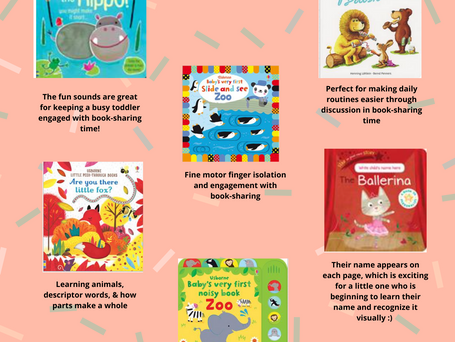 First Birthday Books