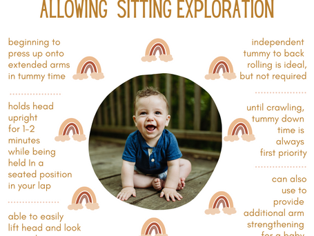 When to Begin Allowing Sitting Exploration