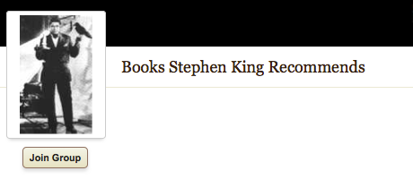 """A Grue Called """"Books Stephen King Recommends"""""""