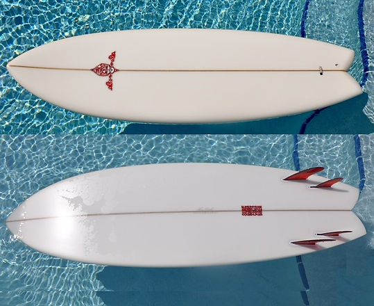 Surfboards by Chris Birch Accelerator II Model