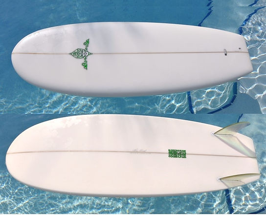 Surfboards by Chris Birch Sweet Pea Model