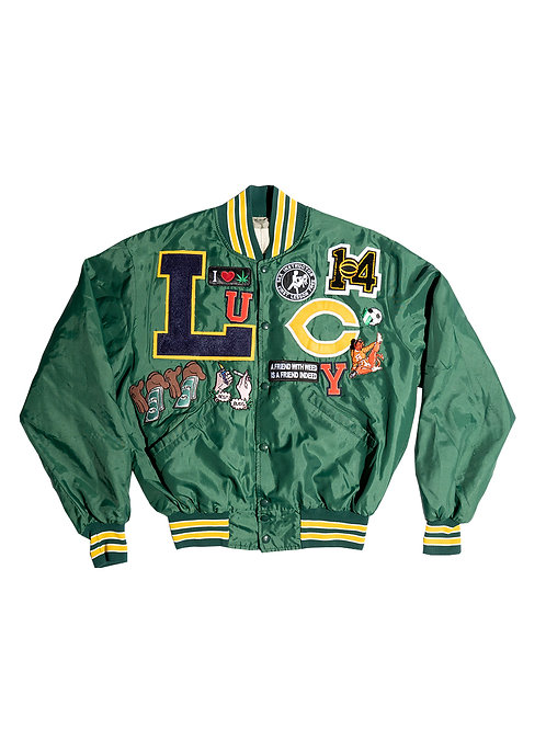 """""""collectors edition"""" Lucy Varsity Jacket W/ Hell Back Patch"""