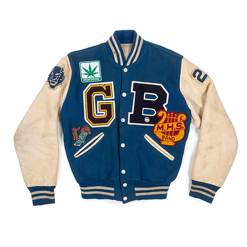 """Blue Devil"" Collector Edition Varsity Jacket"