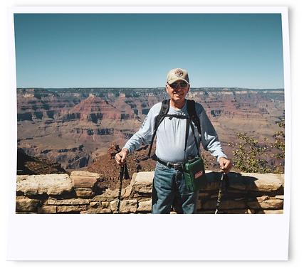 Sherpa Sam at the Grand Canyon