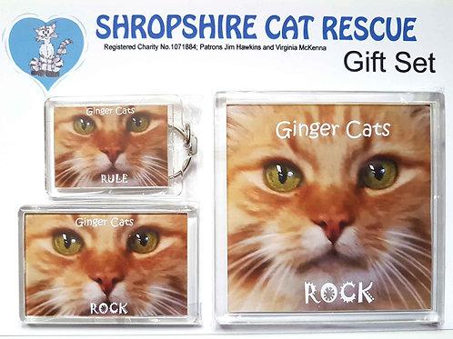 Ginger Cats Gift Set