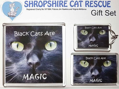 Black Cats Gift Set