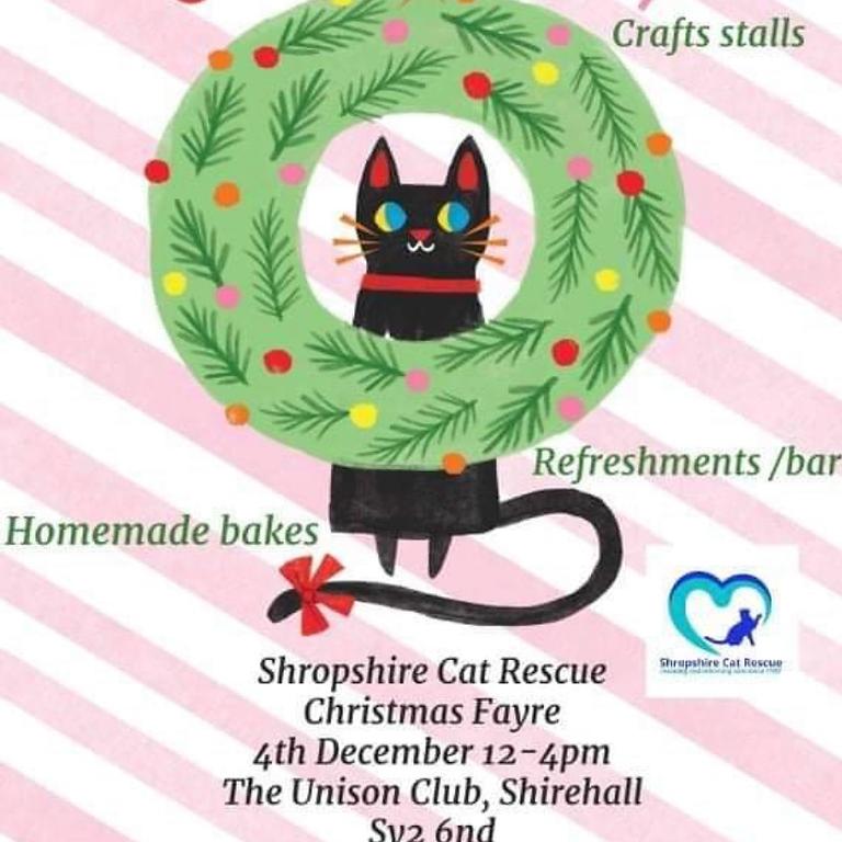Shropshire Cat Rescue Christmas Fayre