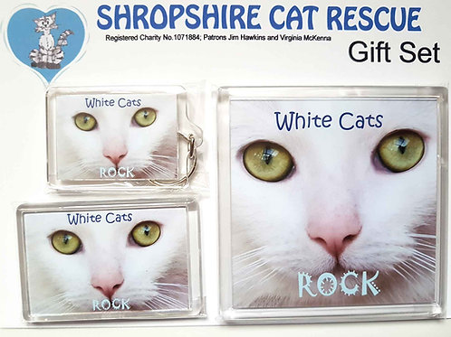 White Cats Gift Sets