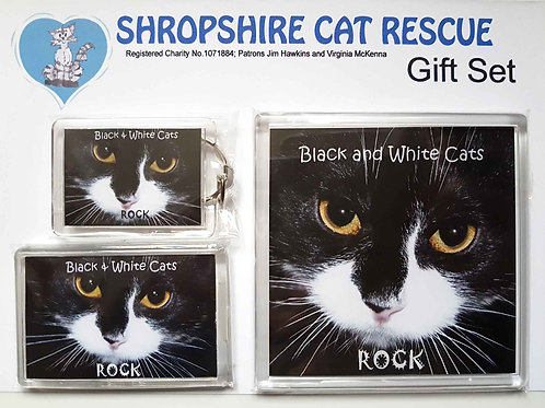 Black and White Cats Gift Sets