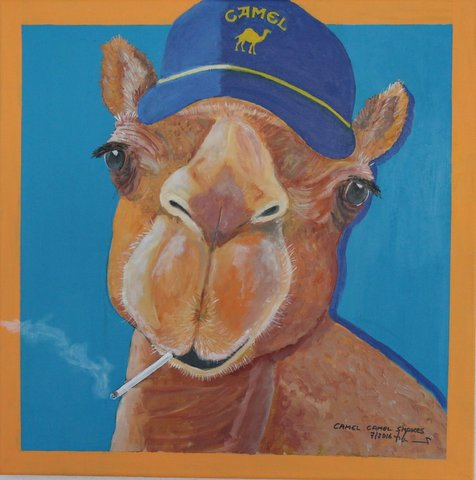 Camel Camel SMOKES 60 x 60cm, 07/16