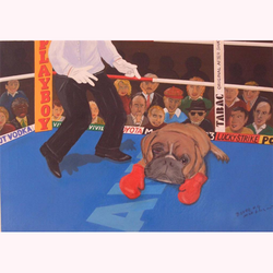 Boxer K.O. 100 x 80 cm, 11.2008