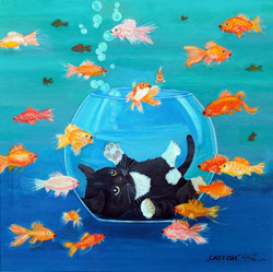 Catfish 80 x 80cm,01/16