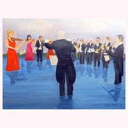 Wassermusik 100 x 80 cm, 4.2013