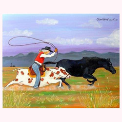 Cowboy 100 x 80 cm, 06.2014