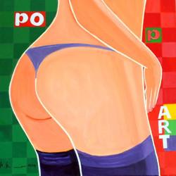 Po....p Art 60 x 60 cm, 11.2014
