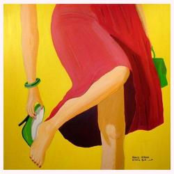 Handschuh 80 x 80 cm, 06.2012