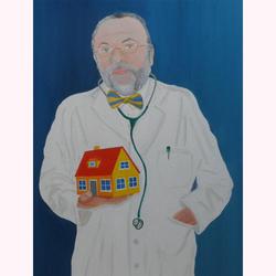 Haus Arzt 60 x 90 cm, 4.2009