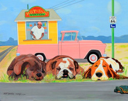 HOT DOG`s 100 x 80 cm, 04.2015