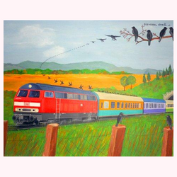 Zugvögel 100 x 80 cm, 6.2013