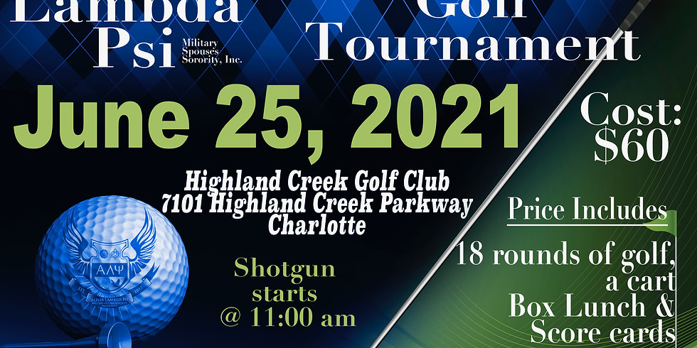 Founder's Day Conference Golf Tournament