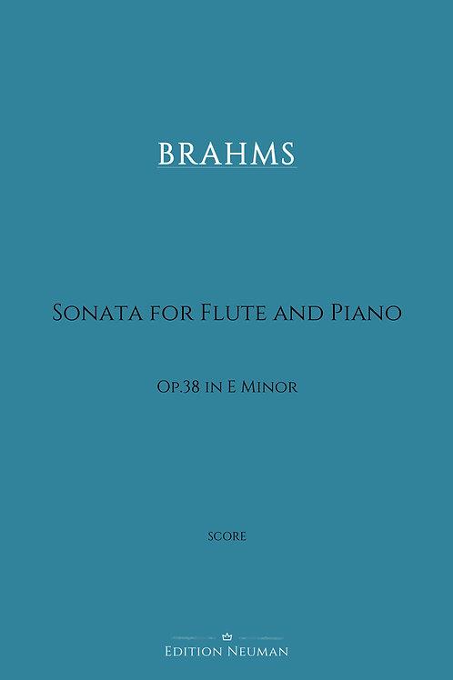 Score BRAHMS Sonata op.38