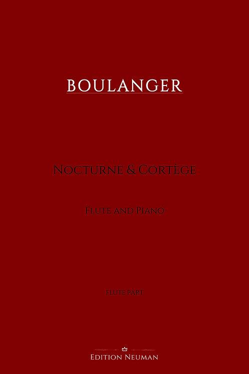 Nocturne & Cortège Flute Part