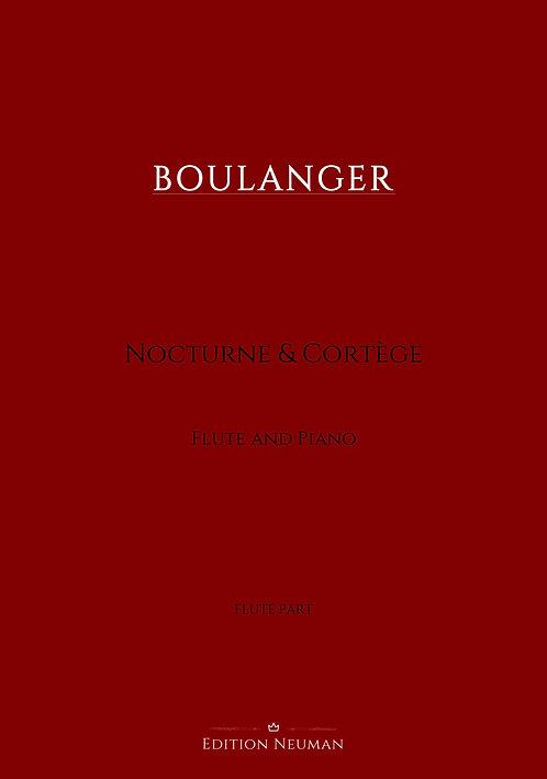 Boulanger Nocturne & Cortége Flute Part